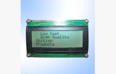 STN 20X4 LCD Module with white led Backlight